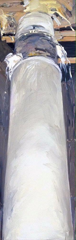 Mariana Murta Bowlhead 130x110 oil paint